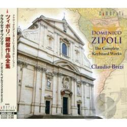 Brizi / Zipoli - Complete Keyboard Works CD Cover Art