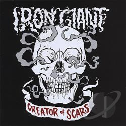 Iron Giant - Creator of Scars CD Cover Art
