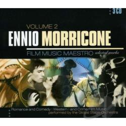 Ennio Morricone: Film Music Maestro-Selecte 2 CD Cover Art