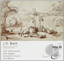 Anderszewski / Lifschitz: pno - J. S. Bach: Keyboard Works CD Cover Art