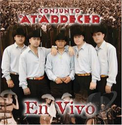 Conjunto Atardecer - En Vivo CD Cover Art