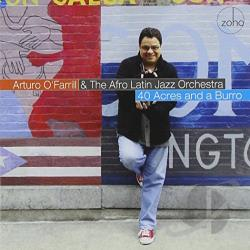 Afro-Latin Jazz Orchestra / Arturo O'Farrill & the Afro Latin Jazz Orchestra / O'Farrill, Arturo - 40 Acres and a Burro CD Cover Art