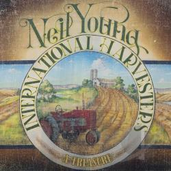 Neil Young & The International Harvesters / Young, Neil - Treasure LP Cover Art