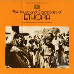 Folk Music and Ceremonies of Ethiopia CD Cover Art