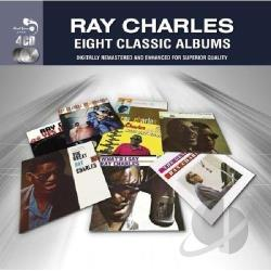 Charles, Ray - Eight Classic Albums CD Cover Art