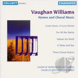 Williams, Vaughan - Vaughan Williams: Hymns and Choral Music CD Cover Art