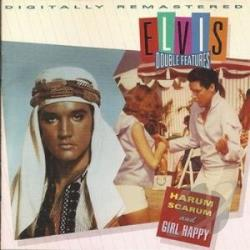 Presley, Elvis - Harum Scarum/Girl Happy CD Cover Art