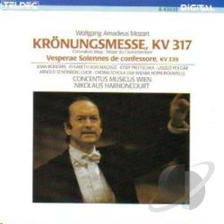 Harnoncourt / Rodgers - Mozart:Mass In C CD Cover Art