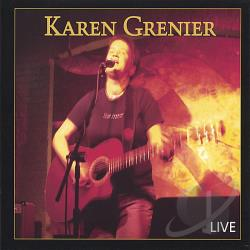 Grenier, Karen - Live CD Cover Art