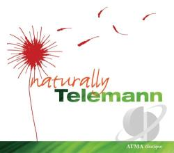 Maute / Telemann - Naturally Telemann CD Cover Art