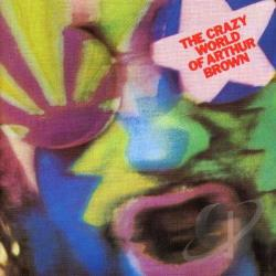 Brown, Arthur - Crazy World of Arthur Brown CD Cover Art