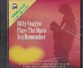 Vaughn, Billy - Plays The Music You Remember CD Cover Art