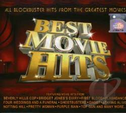Best Movie Hits CD Cover Art