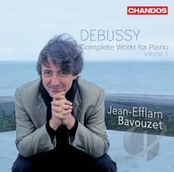 Bavouzet / Debussy - Debussy: Complete Works for Piano, Vol. 3 CD Cover Art