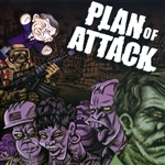Plan Of Attack - Working Dead CD Cover Art