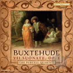 Buxtehude / Purcell Quartet - Buxtehude: VII Suonate, Op. 1 CD Cover Art