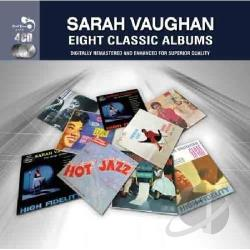 Vaughan, Sarah - Eight Classic Albums CD Cover Art