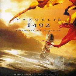 Vangelis - 1492: Conquest of Paradise CD Cover Art
