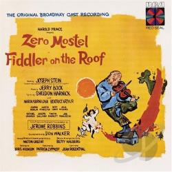 Mostel, Zero - Fiddler On The Roof (Original Broadway Cast Recording) CD Cover Art