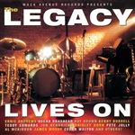 Legacy Band - Legacy Lives On CD Cover Art