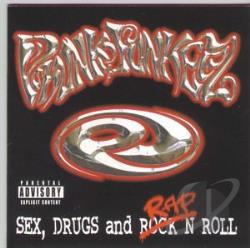 Phunk Junkeez - Sex, Drugs and Rap 'N Roll CD Cover Art