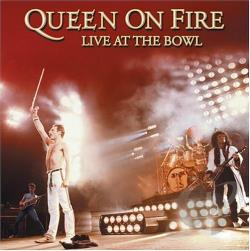 Queen - On Fire: Live at the Bowl CD Cover Art