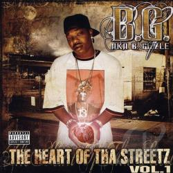 B.G. (Rap) - Heart of tha Streetz, Vol. 1 CD Cover Art