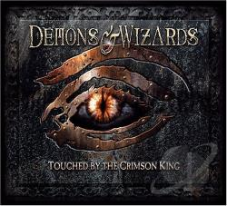 Demons & Wizards - Touched by the Crimson King CD Cover Art