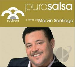 Santiago, Marvin - Pura Salsa CD Cover Art