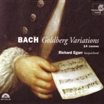 Bach / Egarr - Bach: Goldberg Variations CD Cover Art