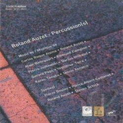 Auzet, Roland - Percussion(s) CD Cover Art