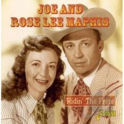 Maphis, Joe / Rose Maphis - Ridin' The Frets CD Cover Art
