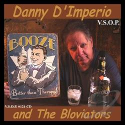 Bloviators / D'Imperio, Danny - Booze CD Cover Art