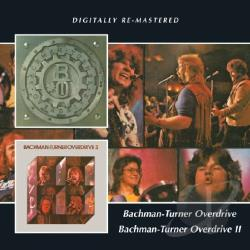 Bachman Turner Overdrive - Bachman-Turner Overdrive 1 & 2 CD Cover Art