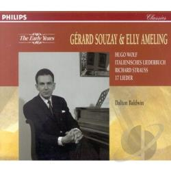 Ameling / Souzay - Early Years - Ameling & Souzay sing Wolf and Strauss CD Cover Art