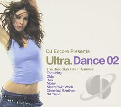 DJ Encore - Ultra Dance 02 CD Cover Art
