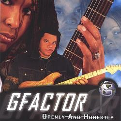 Gfactor - Openly and Honestly CD Cover Art