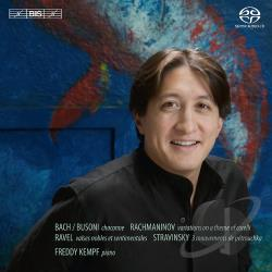 Kempf, Freddy - Freddy Kempf Plays Bach, Busoni, Rachmaninov & Others SA Cover Art