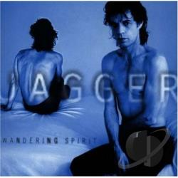 Jagger, Mick - Wandering Spirit CD Cover Art