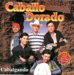 Caballo Dorado - Cabalgando CD Cover Art