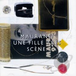 Maurane - Une Fille Tres Scene CD Cover Art