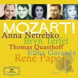 Mozart, Wolfgang Amadeus - Mozart Album CD Cover Art