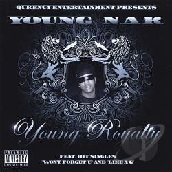 Young Nak - Young Royalty CD Cover Art