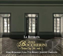 La Ritirata - Luigi Boccherini: String Trios, Op. 34, Vol. 1 CD Cover Art