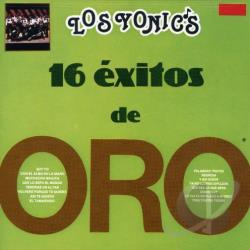 Los Yonic's - 16 Exitos De Oro CD Cover Art