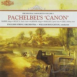 Boughton / English String Orch. - Pachelbel's 'Canon' CD Cover Art
