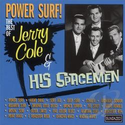 Cole, Jerry - Power Surf!: The Best of Jerry Cole & His Spacemen CD Cover Art