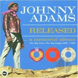 Adams, Johnny - Released: A Memorial Album CD Cover Art