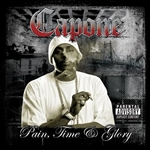Capone - Pain, Time & Glory CD Cover Art