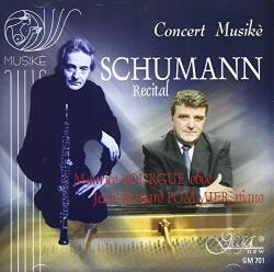 Bourgue / Pommier / Schumann - Music For Oboe & Piano CD Cover Art
